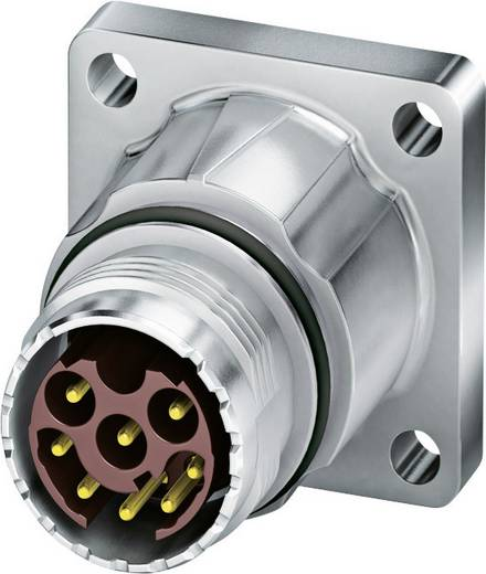 M17 Gerätesteckverbinder. gerade ST-08P1N8AWK00S Silber Phoenix Contact Inhalt: 1 St.