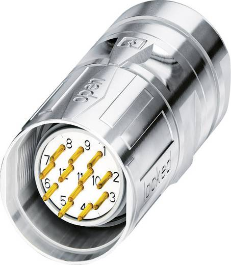 M23 Kabelsteckverbinder CA-17P1N8A80DNS Silber Phoenix Contact Inhalt: 1 St.