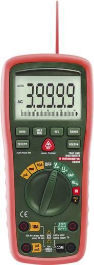 Hand-Multimeter digital Extech EX570 Kalibriert nach: DAkkS Wasserdicht (IP67), IR-Thermometer CAT III 1000 V, CAT IV 60
