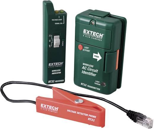 Extech RT32 Kabel-Prüfgerät, Kabeltester Geeignet für Sicherungs- und Leitungsfindung, Zuordnung von Stromkreisen Kalib