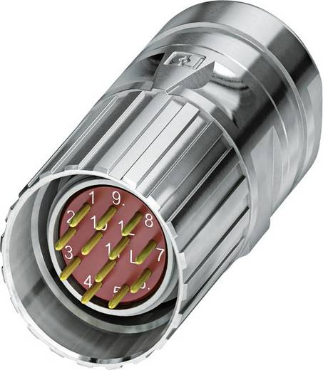 M23 Feedbacksteckverbinder CA-12M2N8A8502 Silber Phoenix Contact Inhalt: 1 St.
