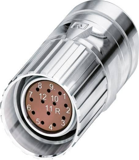 M23 Feedbacksteckverbinder CA-17F1N8A8502 Silber Phoenix Contact Inhalt: 1 St.