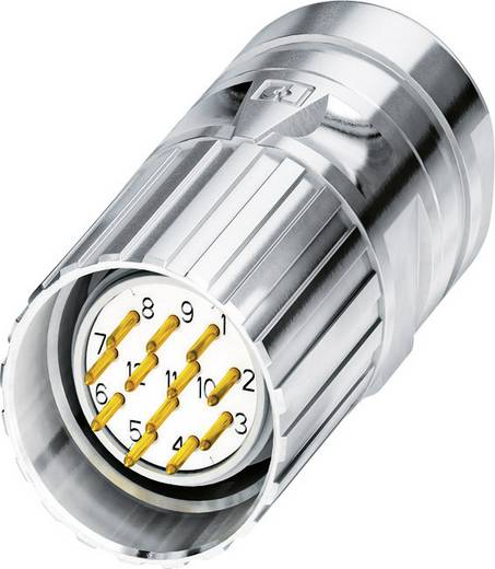M23 Kabelsteckverbinder CA-12P1N8A80DN Silber Phoenix Contact Inhalt: 1 St.
