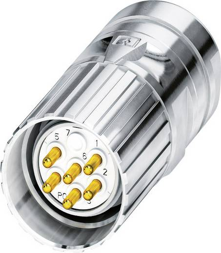 M23 Kabelsteckverbinder CA-09P1N8A8008 Silber Phoenix Contact Inhalt: 1 St.