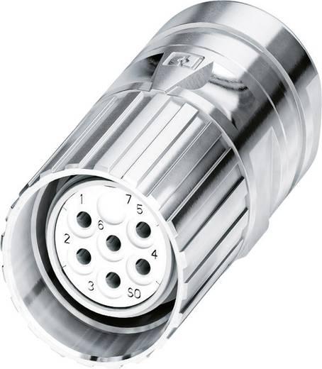 M23 Kabelsteckverbinder CA-09S1N8A8006 Silber Phoenix Contact Inhalt: 1 St.
