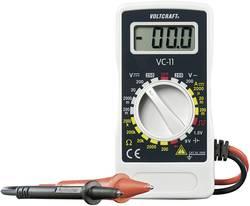 Multimètre numérique VOLTCRAFT VC-11 CAT III 250 V Affichage (nombre de points):2000