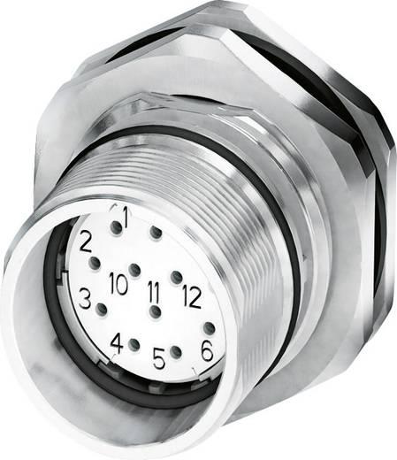 M23 Gerätesteckverbinder, Hinterwandmontage CA-12S1N8AHZ00 Silber Phoenix Contact Inhalt: 1 St.