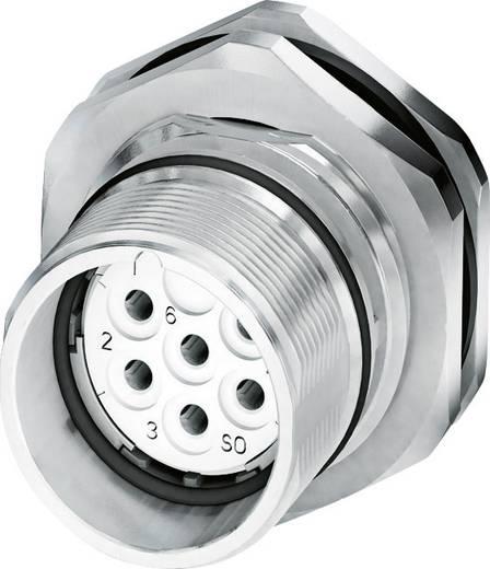 M23 Gerätesteckverbinder, Hinterwandmontage CA-06S1N8AHZ00 Silber Phoenix Contact Inhalt: 1 St.