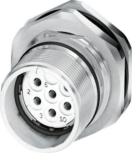 M23 Gerätesteckverbinder, Hinterwandmontage CA-09S1N8AHZ00 Silber Phoenix Contact Inhalt: 1 St.
