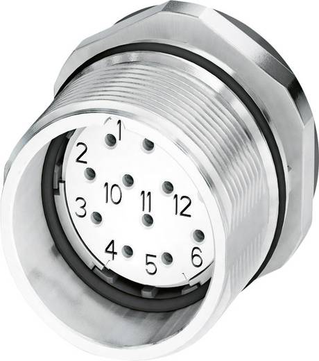 M23 Gerätesteckverbinder CA-12S1N8A6Y00 Silber Phoenix Contact Inhalt: 1 St.