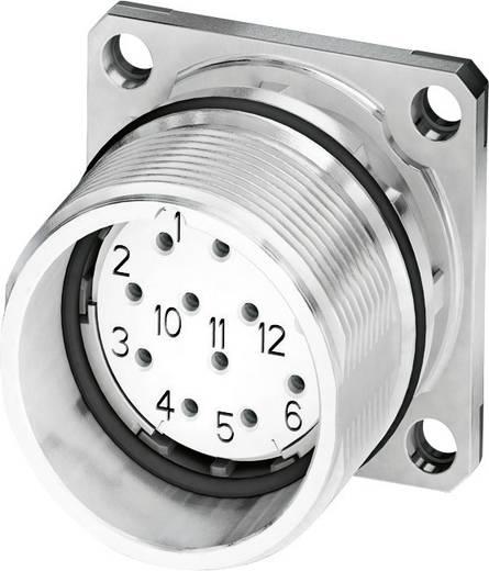 M23 Gerätesteckverbinder, Flanschmontage CA-17S1N8A2S00 Silber Phoenix Contact Inhalt: 1 St.