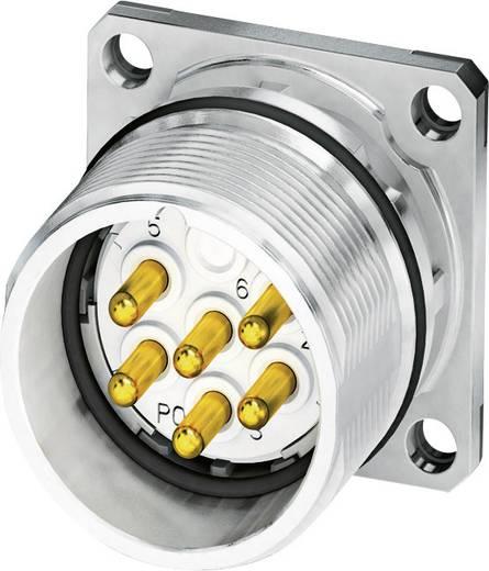M23 Gerätesteckverbinder, Flanschmontage CA-07P1N8A2S00 Silber Phoenix Contact Inhalt: 1 St.