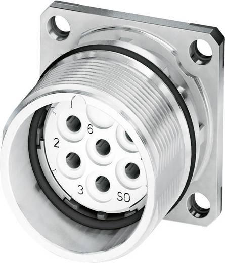 M23 Gerätesteckverbinder, Flanschmontage CA-09S1N8A2S00 Silber Phoenix Contact Inhalt: 1 St.