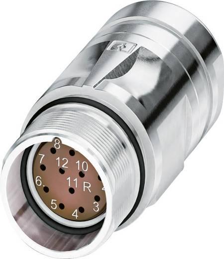 M23 Kupplungsteckverbinder mit SPEEDCON CA-12F1N8A95DU Silber Phoenix Contact Inhalt: 1 St.