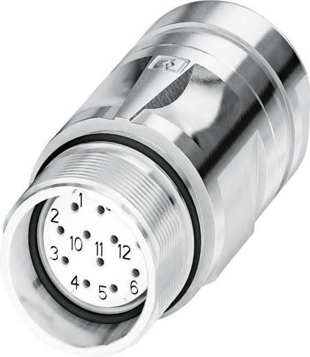M23 Kupplungsteckverbinder CA-12S1N8A90DN Silber Phoenix Contact Inhalt: 1 St.