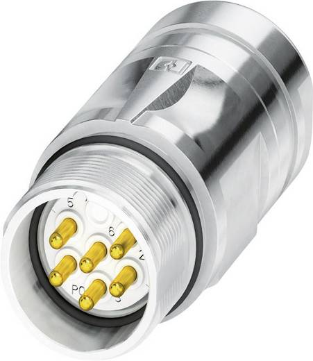 M23 Kupplungsteckverbinder CA-07P1N8A90DN Silber Phoenix Contact Inhalt: 1 St.