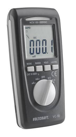 VOLTCRAFT VC-10 Hand-Multimeter digital Kalibriert nach: DAkkS CAT III 600 V Anzeige (Counts): 4000