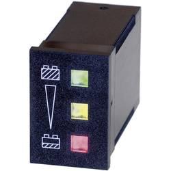 Image of Bauser 3800/008.3.1.0.1.2-003 Batteriewächter 824 - 24 V/DC grün: ≥ 24 V, gelb: < 24 V ≥ 22 V, rot: < 22 V