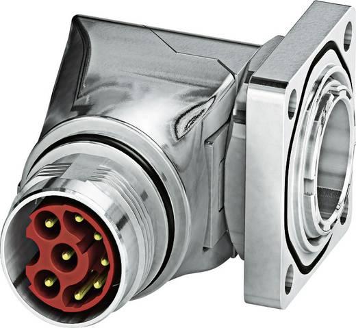 M17 Gerätesteckverbinder. gewinkelt ST-17P1N8AA400S Silber Phoenix Contact Inhalt: 1 St.