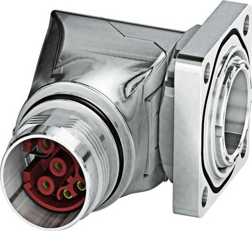 M17 Gerätesteckverbinder. gewinkelt ST-08S1N8AA400S Silber Phoenix Contact Inhalt: 1 St.
