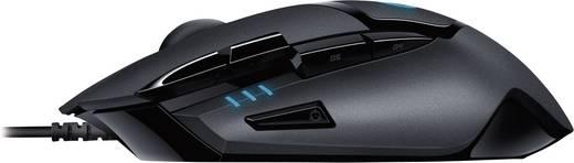 USB-Gaming-Maus Optisch Logitech Gaming G402 Hyperion Fury Schwarz