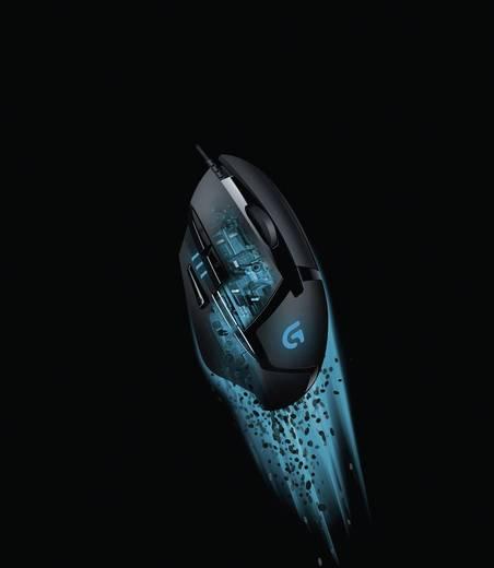 Logitech Gaming G402 Hyperion Fury USB-Gaming-Maus Optisch Schwarz