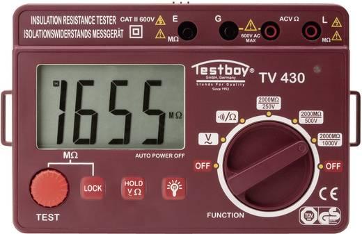 Testboy TV 430N Isolationsmessgerät 250 V, 500 V, 1000 V 2000 MΩ Kalibriert nach DAkkS
