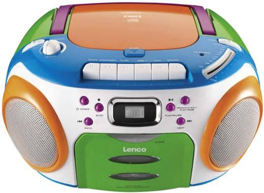lenco scd 97 mp3 kids cd radio mit kassette f r kinder. Black Bedroom Furniture Sets. Home Design Ideas