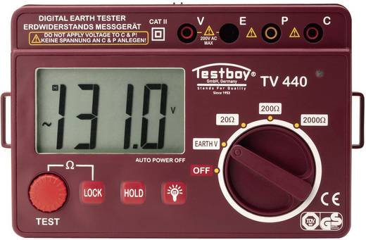 Erdungsmessgerät Testboy TV 440N Kalibriert nach Werksstandard (ohne Zertifikat)