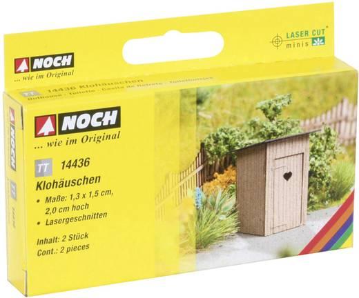 NOCH 14436 N Laser-Cut minis® Klohäuschen