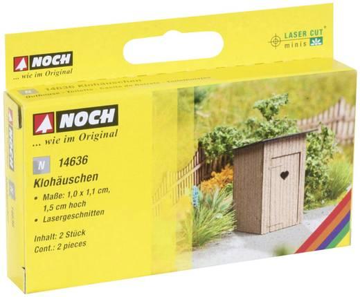 NOCH Laser-Cut minis® 14636 N Klohäuschen