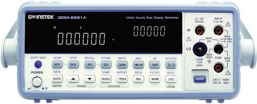 Tisch-Multimeter digital GW Instek GDM-8255A Kalibriert nach: ISO CAT II 500 V Anzeige (Counts): 200000