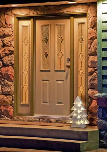 LED-Weihnachtsdekoration Weihnachtsbaum Warm-Weiß LED Polarlite LDE-04-001 Transparent