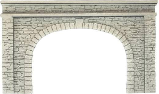 H0 Tunnel-Portal 2gleisig Hartschaum-Fertigmodell NOCH 58062