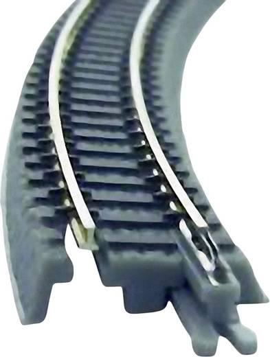 Z Rokuhan Gleis (mit Bettung) 7297065 Gebogenes Gleis, überhöht 30 ° 220 mm