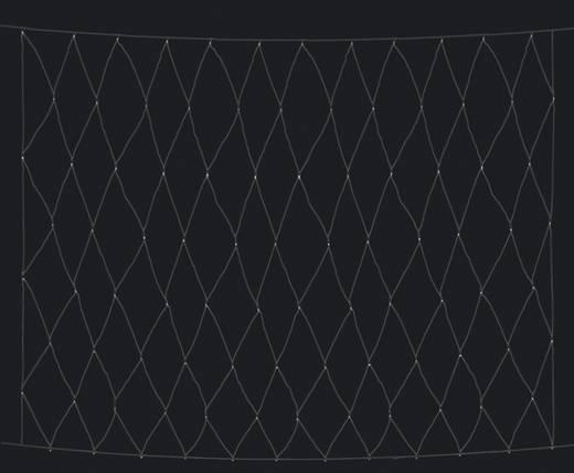 Polarlite Lichternetz Außen 230 V/50 Hz 96 LED Kalt-Weiß (L x B) 300 cm x 300 cm