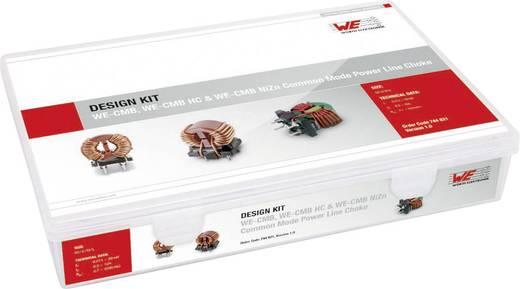 Würth Elektronik Kit CMB CMB 744821 Drossel-Sortiment radial bedrahtet 86 Teile