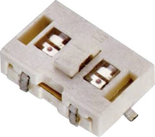 Drucktaster 12 V/DC 0.05 A 1 x Aus/(Ein) Würth Elektronik WS-TLS 444BD21025816 tastend 1 St.
