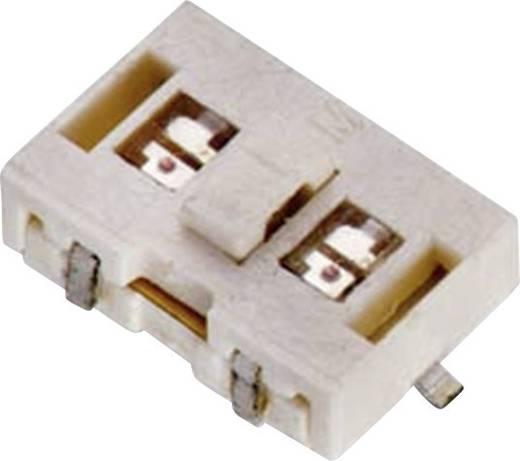 Drucktaster 12 V/DC 0.05 A 1 x Aus/(Ein) Würth Elektronik WS-TLS 444VD21025816 tastend 1 St.