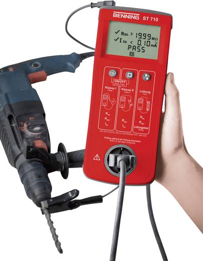 Gerätetester Benning ST 710 VDE 0701/0702 Kalibriert nach ISO