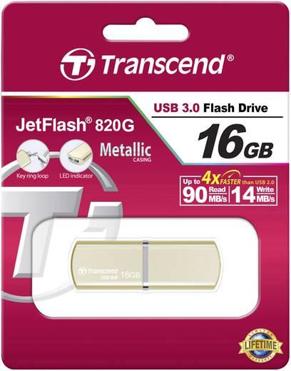 USB-Stick 16 GB Transcend JetFlash® 820G Champagne Gold TS16GJF820G USB 3.0