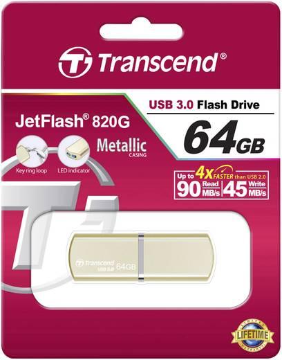 USB-Stick 64 GB Transcend JetFlash® 820G Champagne Gold TS64GJF820G USB 3.0