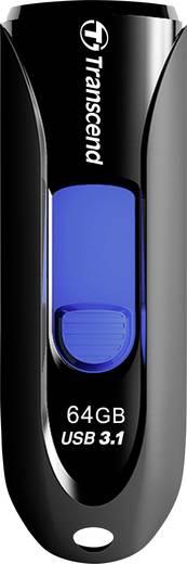Transcend JetFlash® 790 USB-Stick 64 GB Schwarz/Blau TS64GJF790K USB 3.1