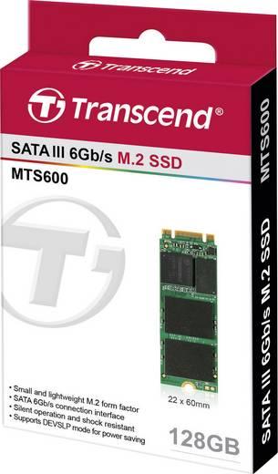 Interne SATA M.2 SSD 2260 128 GB Transcend MTS600 Retail TS128GMTS600 M.2
