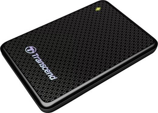 Transcend ESD400 Externe SSD Festplatte 256 GB Schwarz USB 3.0