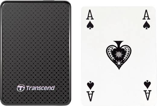 Transcend ESD400 Externe SSD Festplatte 128 GB Schwarz USB 3.0