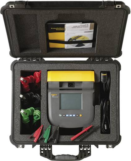 Fluke 1550C/KIT Isolationsmessgerät, 250 V - 5 kV CAT III 1000 V, CAT IV 600 V - DAkkS kalibriert