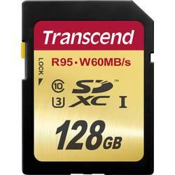 SDXC karta, 128 GB, Transcend Ultimate, Class 10, UHS-I, UHS-Class 3