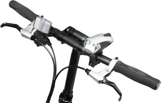 Reflektor Basetech ET-3170 Mini LED batteriebetrieben Silber-Schwarz