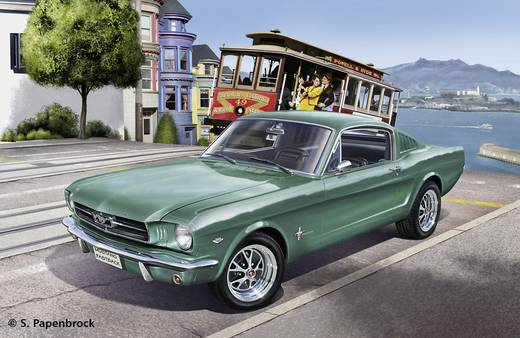 Revell 7065 1965 Ford Mustang 2 + 2 Fastback Automodell Bausatz 1:24